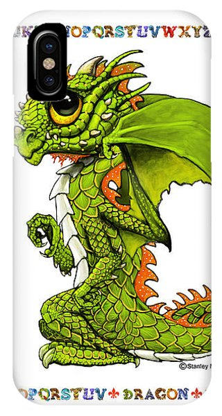 D Is For Dragon IPhone Case