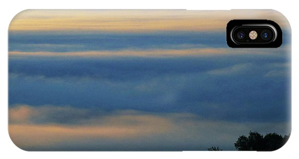 IPhone Case featuring the photograph D8b6320 Mt. Diablo And Fog From Sonoma Mountain Ca by Ed Cooper Photography
