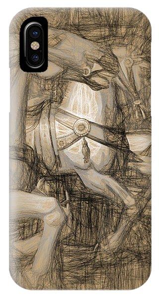 Da Vinci Carousel IPhone Case