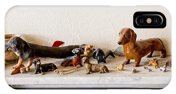Dachshund Sculptures IPhone Case
