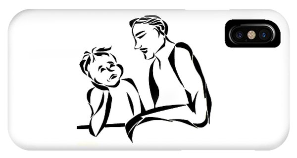Dad And Son IPhone Case
