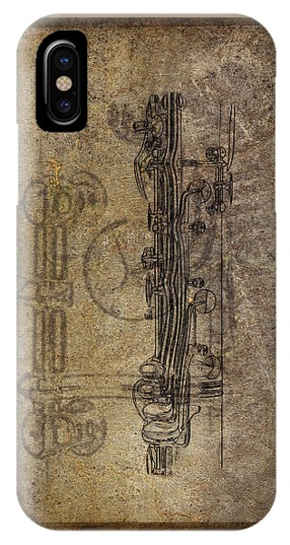 Dads Clarinet IPhone Case
