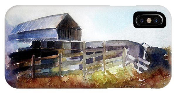 Dad's Farm House IPhone Case