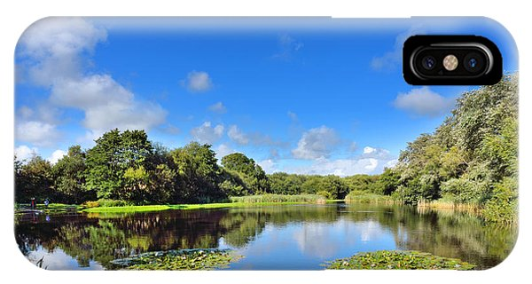 Dafen Pond IPhone Case