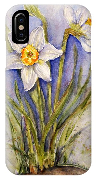 Daffodil Couple IPhone Case