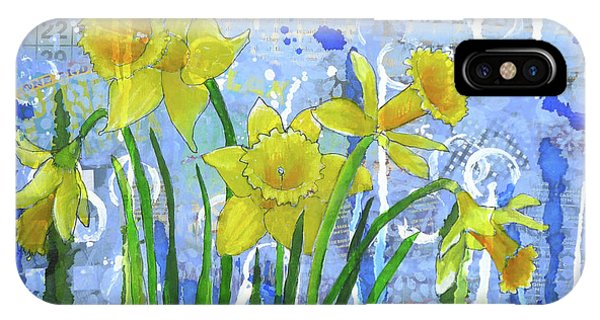 Daffodil Ding Dongs IPhone Case