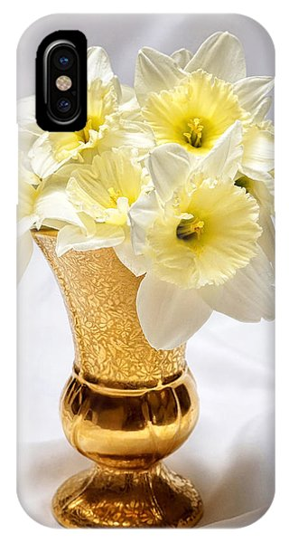 Daffodil Elegance  IPhone Case