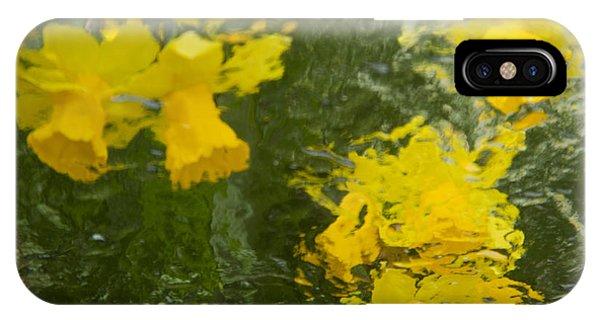 Daffodil Impressions IPhone Case