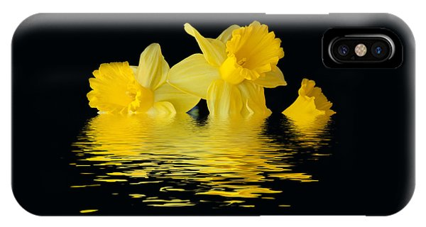Floating Daffodils  IPhone Case
