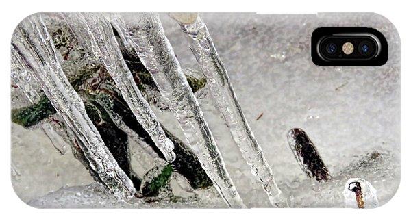 Daggers Of Ice IPhone Case