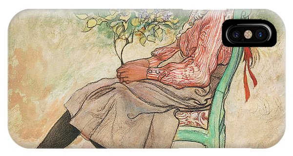Art And Craft iPhone Case - Dagmar Grill by Carl Larsson