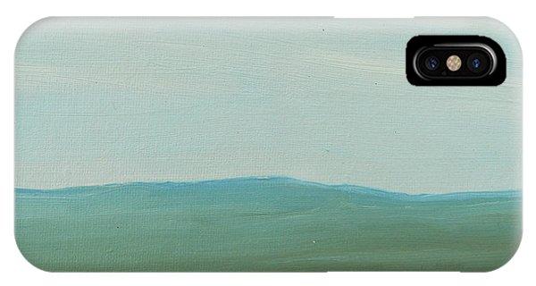 Dagrar Over Salenfjallen- Shifting Daylight Over Distant Horizon 4 Of 10_0029 51x40 Cm IPhone Case