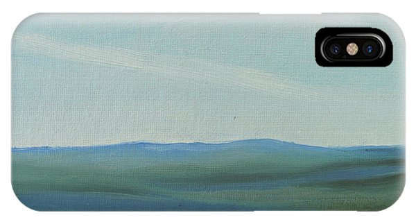 Dagrar Over Salenfjallen- Shifting Daylight Over Distant Horizon 6a Of 10_0027 50x40 Cm IPhone Case