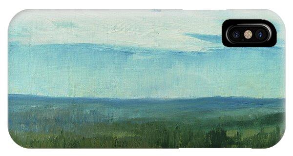 Dagrar Over Salenfjallen- Shifting Daylight Over Distant Horizon 7 Of 10_0029 IPhone Case