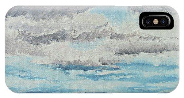 Dagrar Over Salenfjallen- Shifting Daylight Over Distant Horizon 8 Of 10_0029 IPhone Case