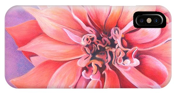 Dahlia 2 IPhone Case