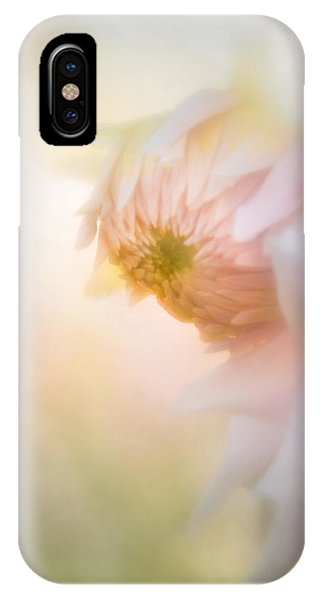 Dahlia In The Soft Morning Mist IPhone Case