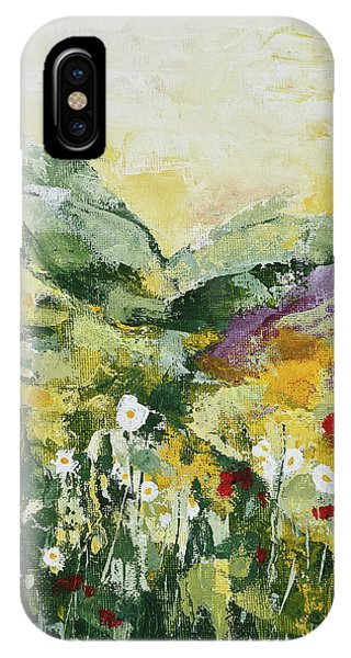 Daisies And Poppies IPhone Case