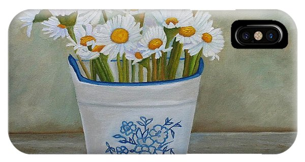 Daisies And Porcelain IPhone Case