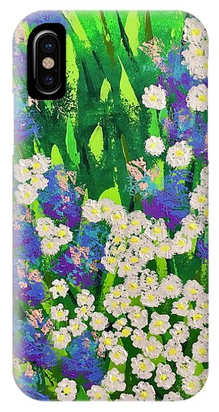 Daisy And Glads IPhone Case
