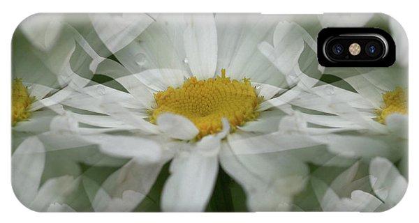 Daisy Dreams In White IPhone Case