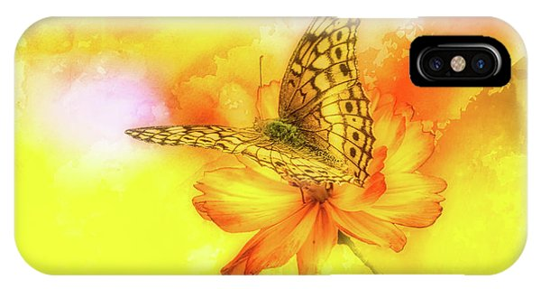 Daisy For A Butterfly IPhone Case