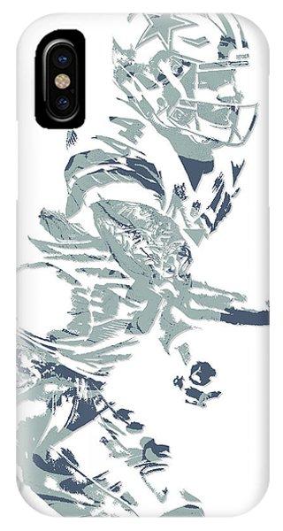 Dak Prescott Dallas Cowboys Pixel Art 11 IPhone Case