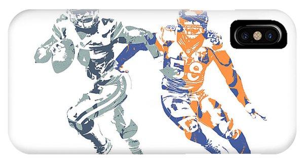 Dak Prescott Von Miller Cowboys Broncos Pixel Art IPhone Case