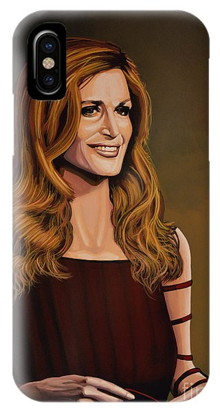 French Artist iPhone Case - Dalida by Paul Meijering