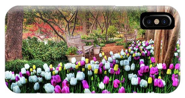 Dallas Arboretum IPhone Case