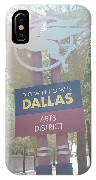 Dallas Arts District IPhone Case