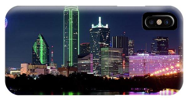 Dallas Colors Pano 2015 IPhone Case