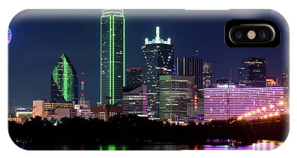 Dallas Colors Pano 2015 IPhone Case