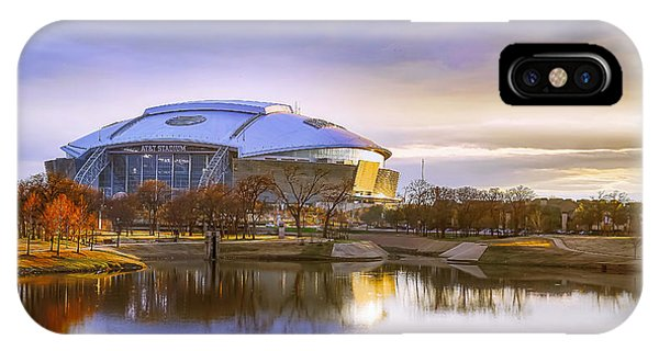 Dallas Cowboys Stadium Arlington Texas IPhone Case