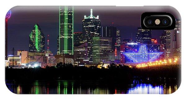 Dallas Cowboys Star Night IPhone Case