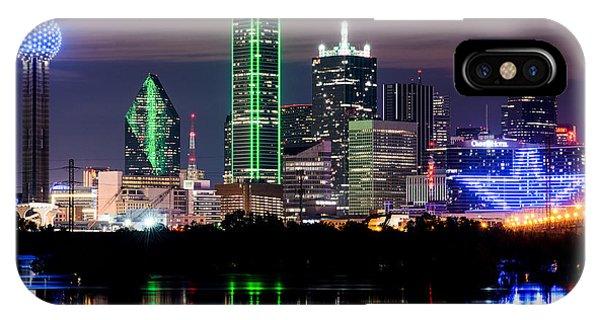 Dallas Cowboys Star Skyline IPhone Case