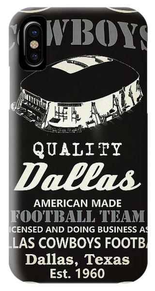 Tickets iPhone Case - Dallas Cowboys Whiskey by Joe Hamilton