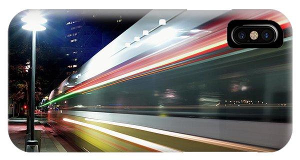 Dallas Dart Train 012518 IPhone Case