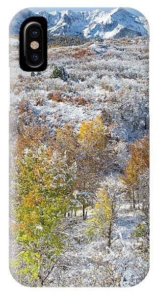 IPhone Case featuring the photograph Dallas Divide In October by Denise Bush