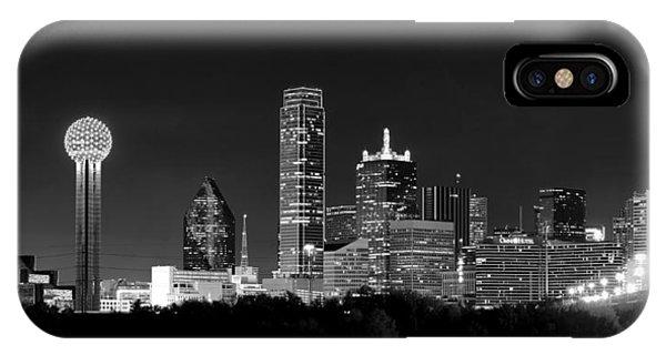Dallas In Monochrome IPhone Case