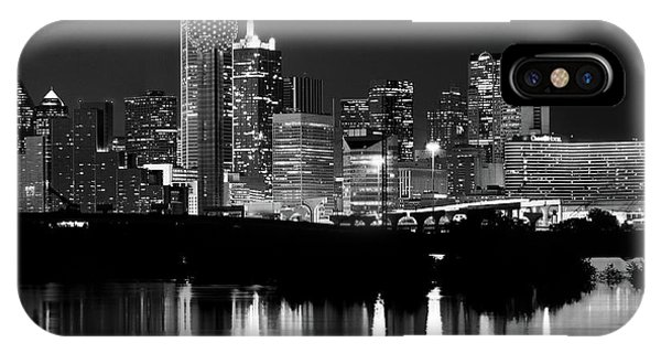 Dallas Nights Bw 6816 IPhone Case