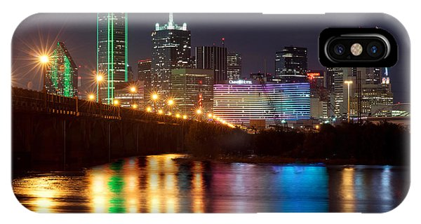 Dallas Reflections IPhone Case
