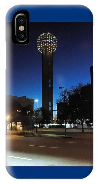 Dallas Reunion Tower IPhone Case