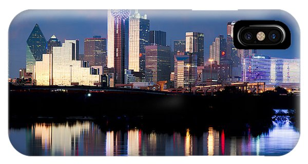 Dallas Skyline May 2015 IPhone Case