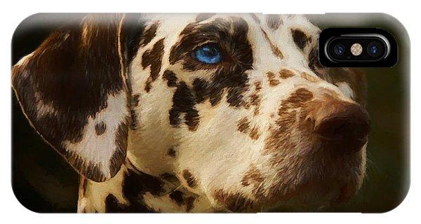Dalmatian - Painting IPhone Case