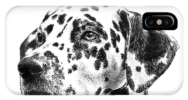 Dalmatians - Dwp765138 IPhone Case