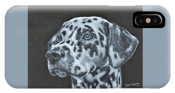 Dalmation Portrait IPhone Case