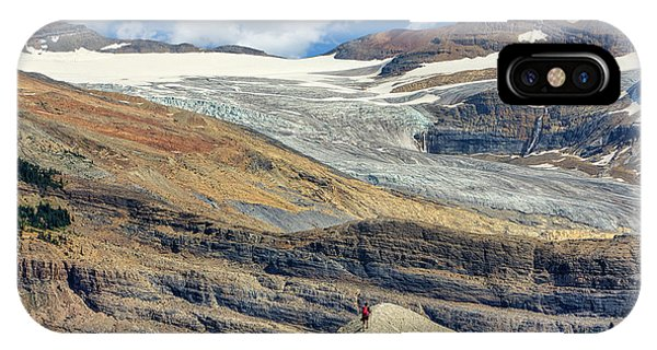 Daly Glacier And Yoho National Park Adventure IPhone Case
