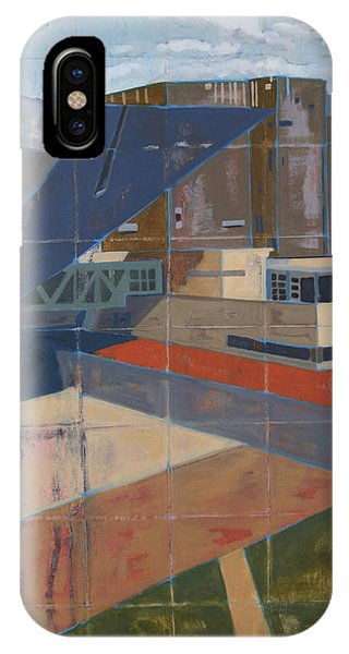 IPhone Case featuring the painting Dam Museum by Erin Fickert-Rowland
