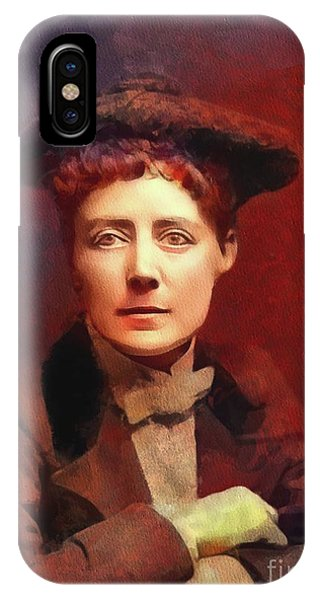 Equal Rights iPhone Case - Dame Ethel Smyth, Suffragette And Composer by Mary Bassett